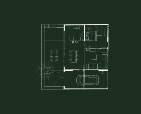 Planta baja Casa BD